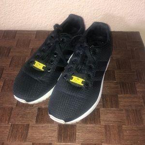 Adidas ZX Flux Torison Black Boys Size 5 1/2 Shoes